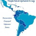 mapa exportación FES CARGO