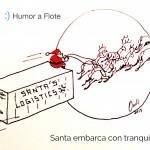 Humor a Flote Santa