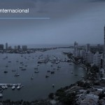 El presidente colombiano Santos, inaugura puerto bahía