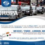 Global FesCargo TARIFAS ESPECIALES A EUROPA 2021